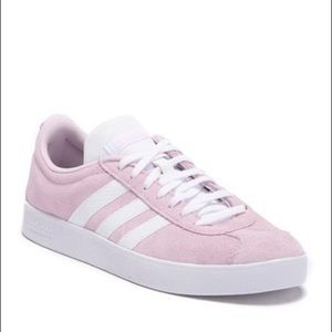 Adidas   Pink Courtside Suede Tennis Shoes Sz 7.5